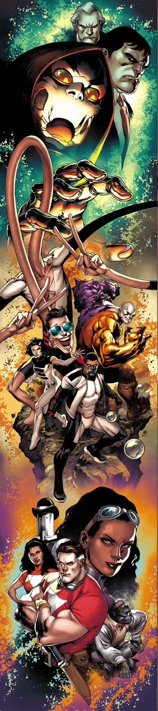 Tom Strong And Family Join The Watchmen In The DC Universe With The Terrifics