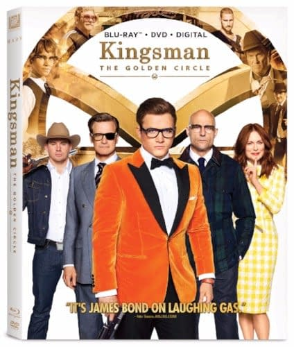 Kingsman: The Golden Circle Gets Home Video Release In Time For Christmas