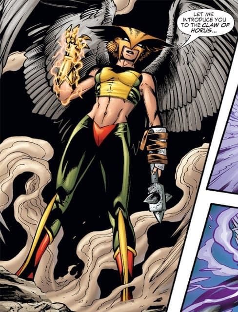 Hawkman's Ultimate Weapon: The Claw of Horus