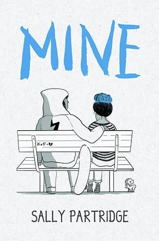Astrid Blumer's Cover to Sally Partridge's New Comic-Rooted Novel, Mine