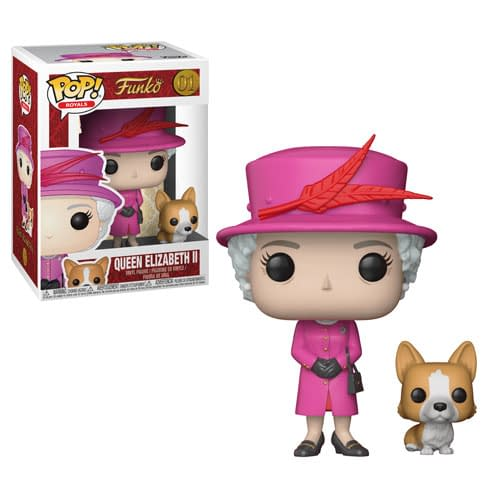 Funko Pop Versions of the Royal Family Coming in February