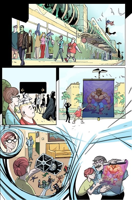 What Happens if the Big Two Stop Publishing Comics? Find Out in This New Comic