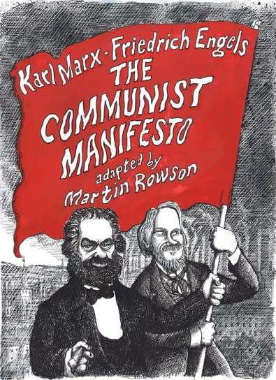 Martin Rowson to adapt Karl Marx's Communist Manifesto into a graphic novel, and more from SelfMadeHero in 2018