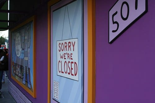 Fifty Comic Stores That Have Closed Since January 2017