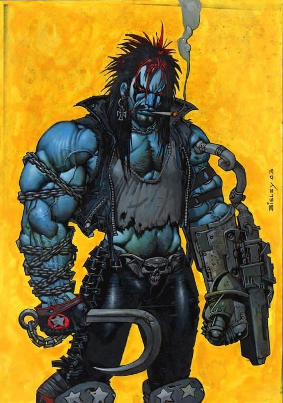 A Brand New Look for Lobo in JLA/Doom Patrol's Milk Wars
