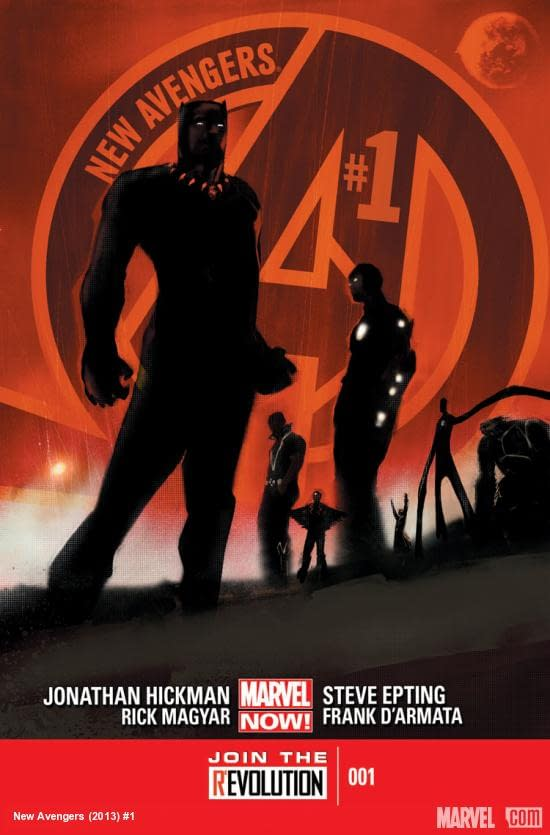 New Avengers #1 cover by Jock