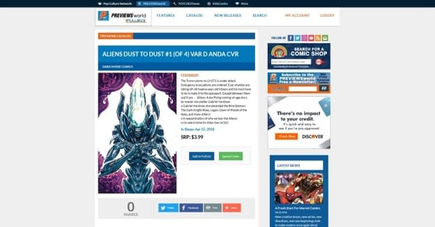Diamond Comics Launches Digital Pullbox System for Comic Shops and Their Customers