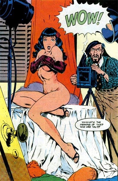 Terry Dodson Talks Bettie Page, His Comic Cover, and the Statue