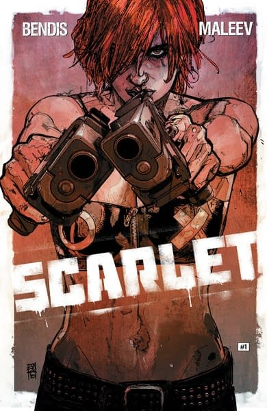 DC Solicited Brian Michael Bendis and Alex Maleev's Absolute Scarlet by Mistake?