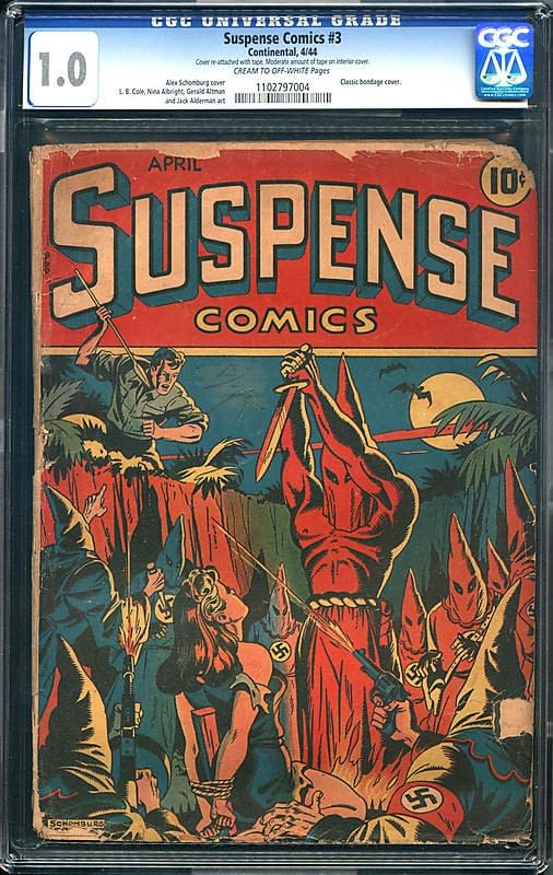 Suspense Comics #3 and the Iconography of Fictional Hate