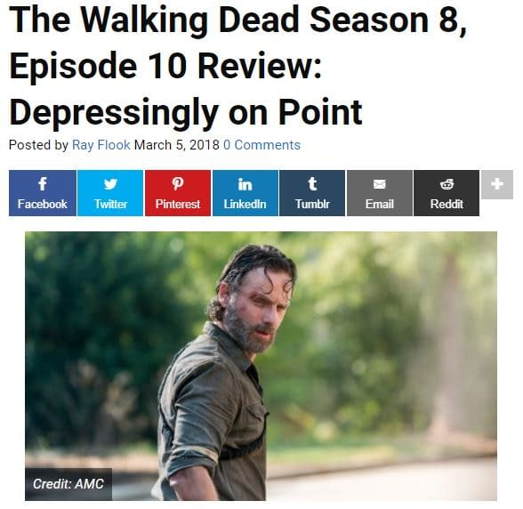 Bring Out Your Dead! 811: Bleeding Cool's #TheWalkingDead Live-Blog!