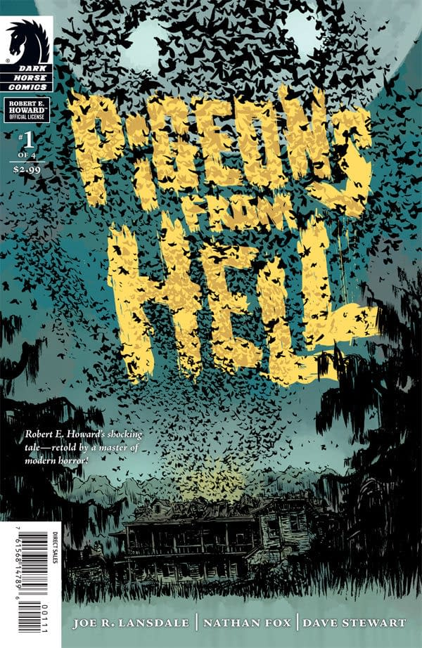 Robert E. Howard's Estate to Trademark 'Pigeons From Hell' Comics
