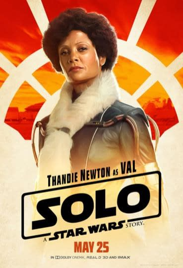 A Bunch of New Solo: A Star Wars Story Character Posters Just Dropped