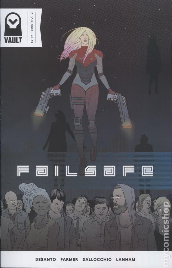 Failsafe, a Vault Comics Title, Goes to Netflix