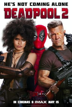 Deadpool 2 Gets An Official Poster. Officially.