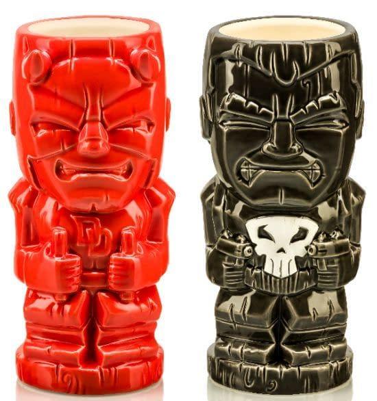 Daredevil and Punisher Tiki SDCC