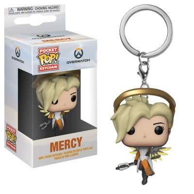 Funko Overwatch Mercy Pop Keychain