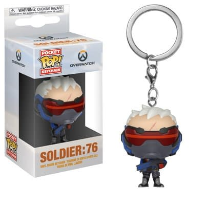 Funko Overwatch Soldier 76 Pop Keychain
