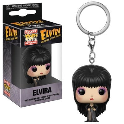 Funko Pop Elvira Keychain 1