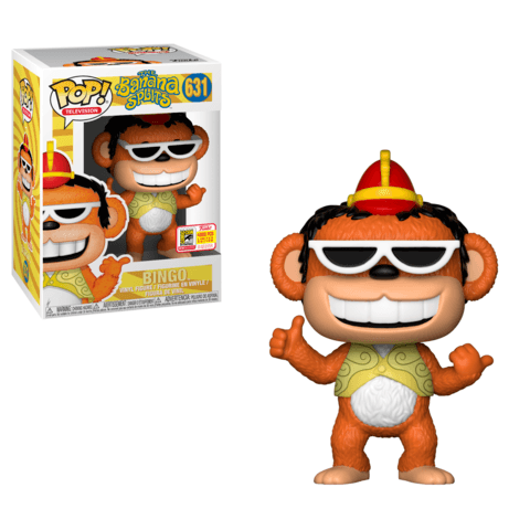 Funko SDCC Banana Splits Bingo Pop