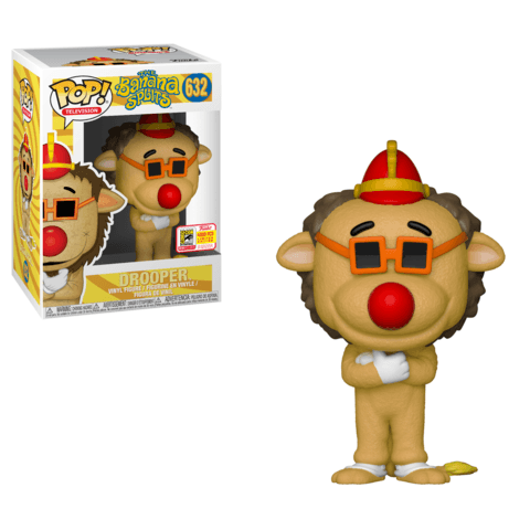 Funko SDCC Banana Splits Drooper Pop