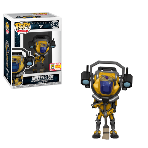 Funko SDCC Exclusive Destiny Sweeper Bot Pop
