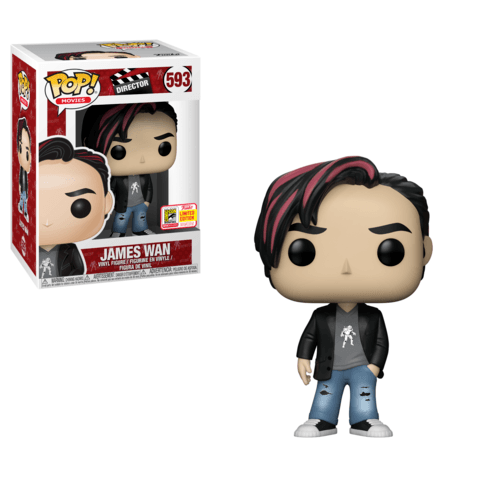 Funko SDCC Exclusive James Wan Pop