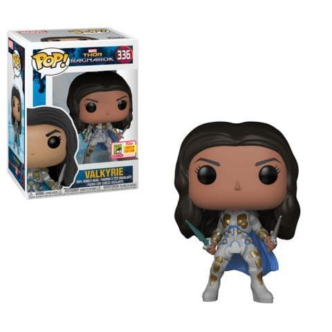Funko SDCC Exclusive Marvel Thor Ragnarok Hero Valkyrie Pop