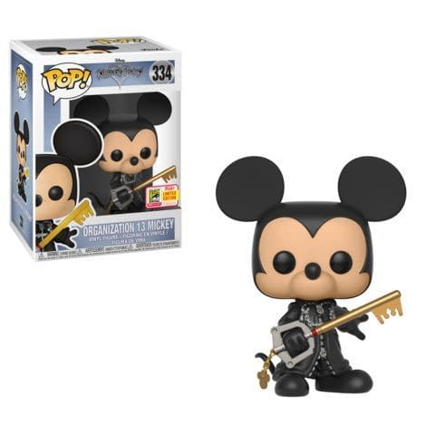 Funko SDCC Exclusive Organization 13 Mickey Kingdom Hearts