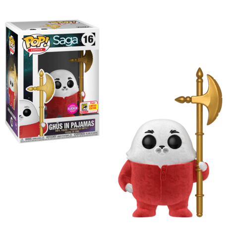 Funko SDCC Exclusive Saga Ghus Flocked Pop