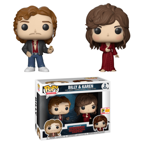 Funko SDCC Stranger Things Billy and Karen Two Pack