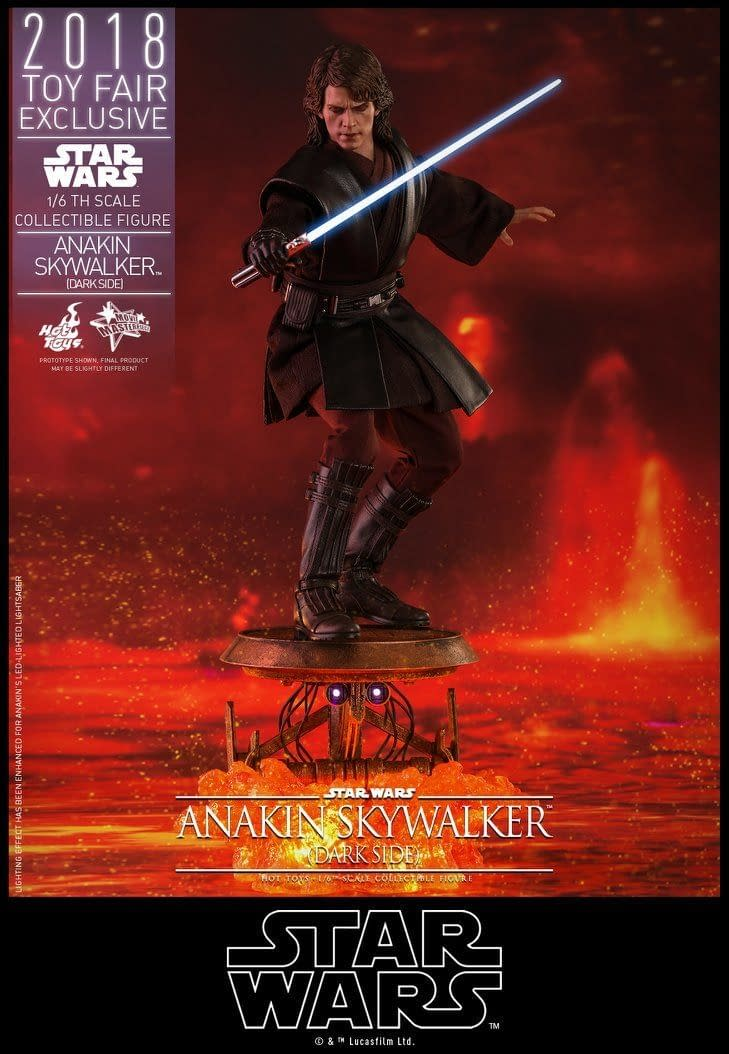 Hot Toys SDCC Exclusive Anakin Skywalker 1