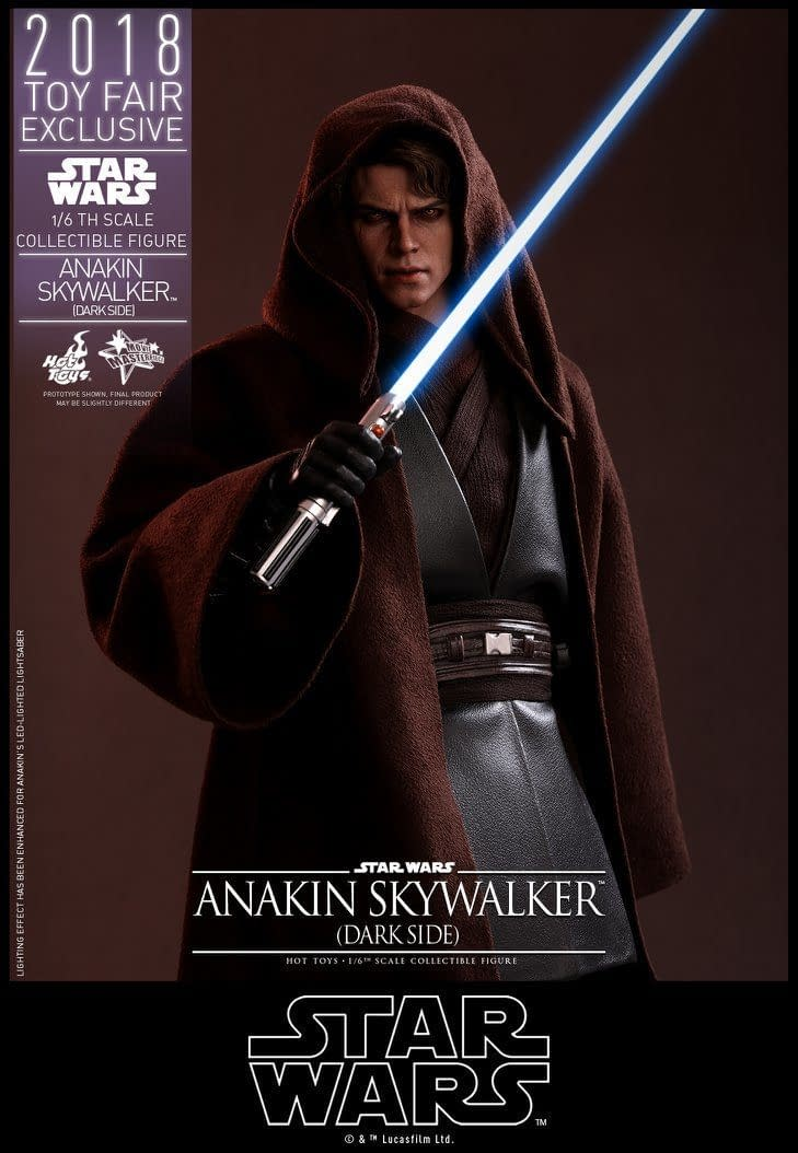 Hot Toys SDCC Exclusive Anakin Skywalker 2