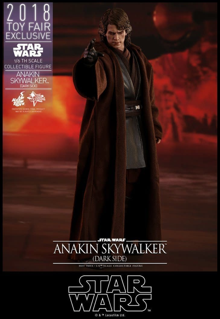 Hot Toys SDCC Exclusive Anakin Skywalker 8