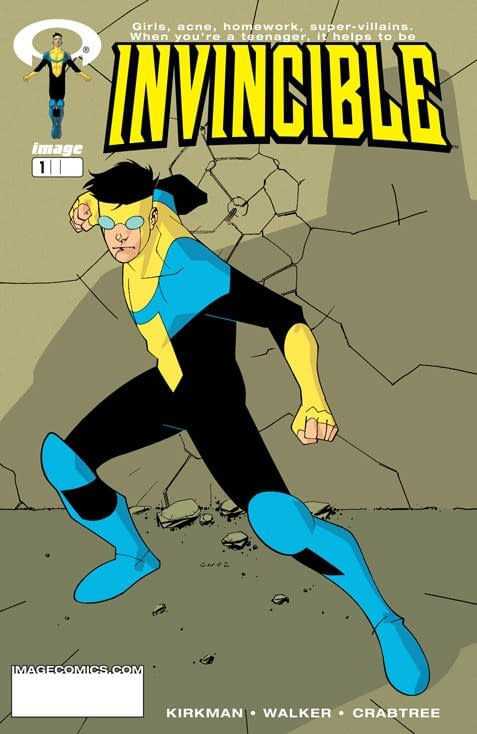 Robert Kirkman and Cory Walker's Invincible Gets Amazon Adult Animated Series