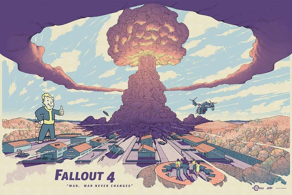 Mondo Fallout 4 E3 Poster 1