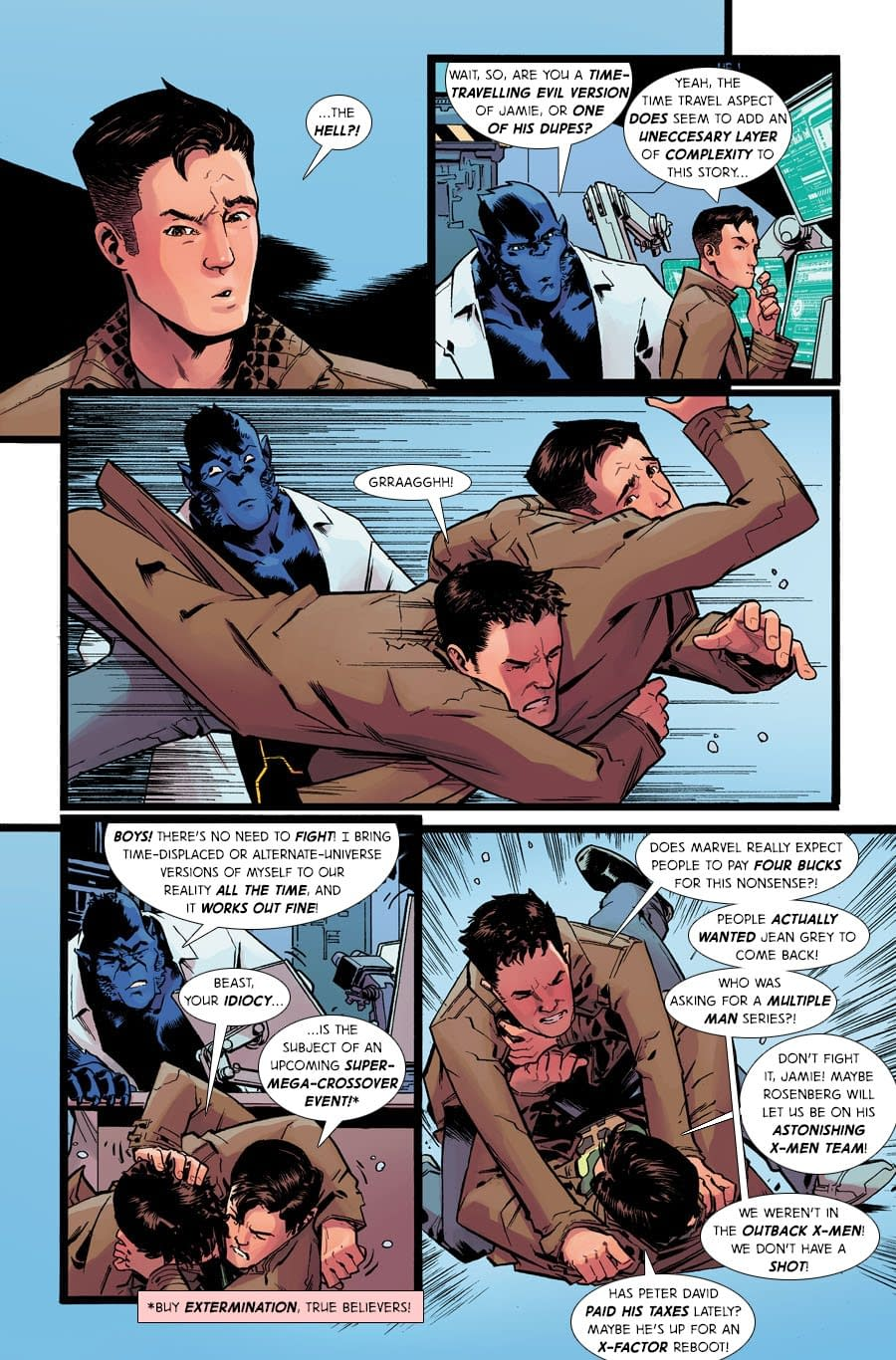 Improbable Previews: It's Time for Our Bi-Monthly ResurrXion in Multiple Man #1