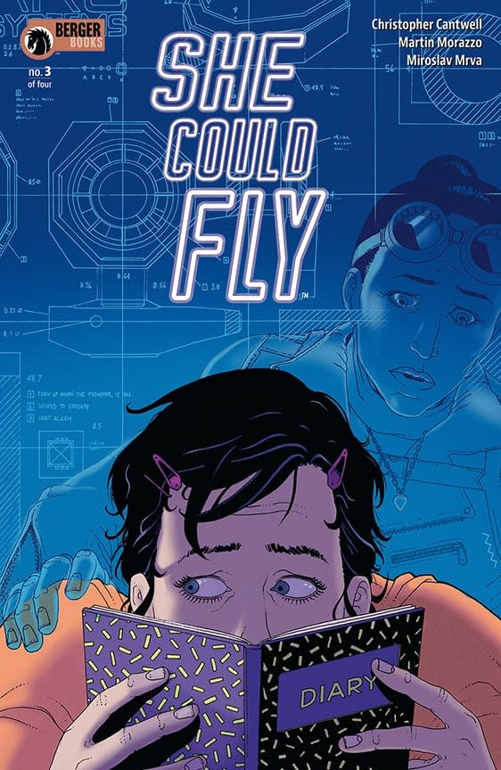 Exclusive: First Look at Martin Morazzo's Cover for She Could Fly #3