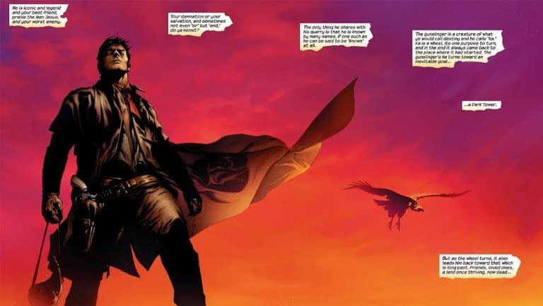 Exclusive: Gallery 13 Grab Stephen King's The Dark Tower Graphic Novel Rights from Marvel