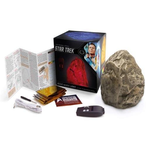 ThinkGeek SDCC Exclusive Star Trek Rock Mood Light