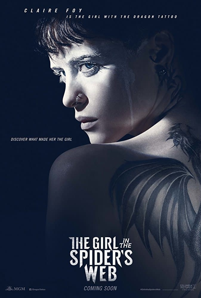 First Trailer and Poster for The Girl in the Spider's Web