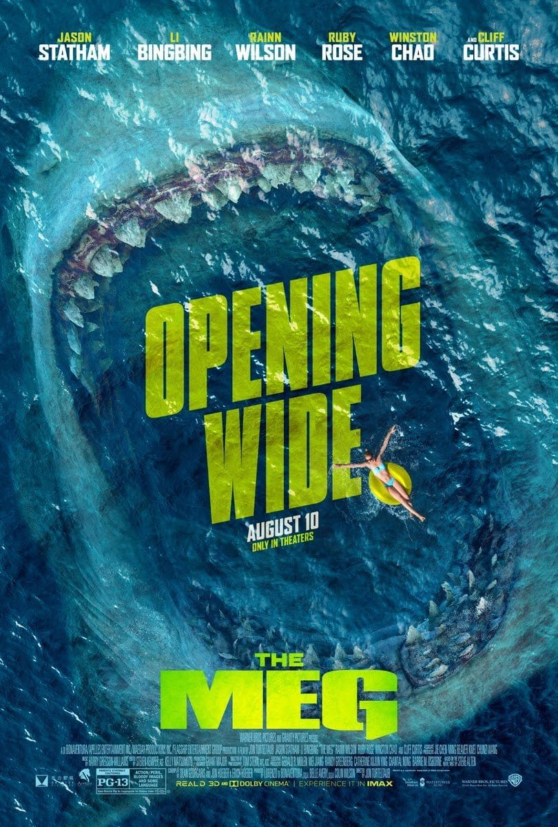 'The Meg' Was Gonna Be WAAAAAY Bloodier Than P3-13 Allows