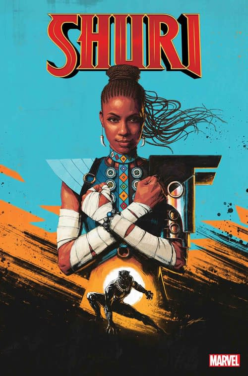 Preview: Shuri #1 from Marvel's Next Big Thing Panel at SDCC