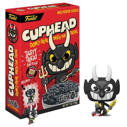 Funko Cereal Cuphead The Devil