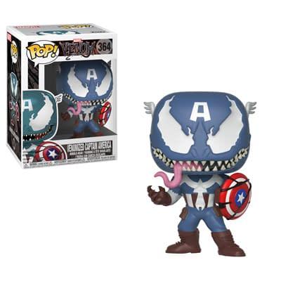 Funko Marvel Venom Captain America Pop