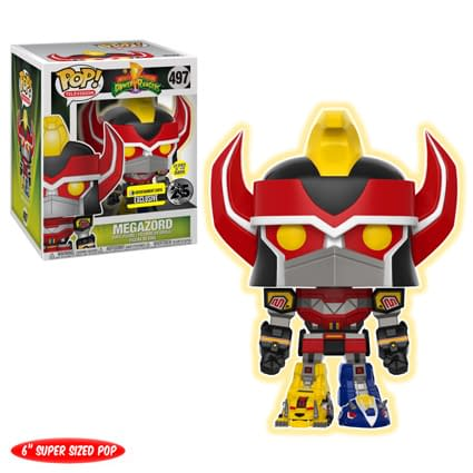 Funko Mighty Morphin Power Rangers Megazord GLOW