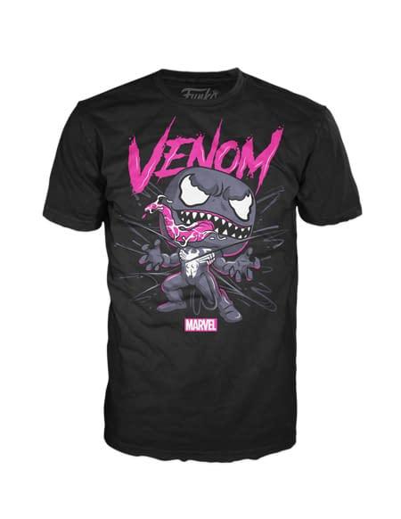 Funko Pop Tees Venom 1