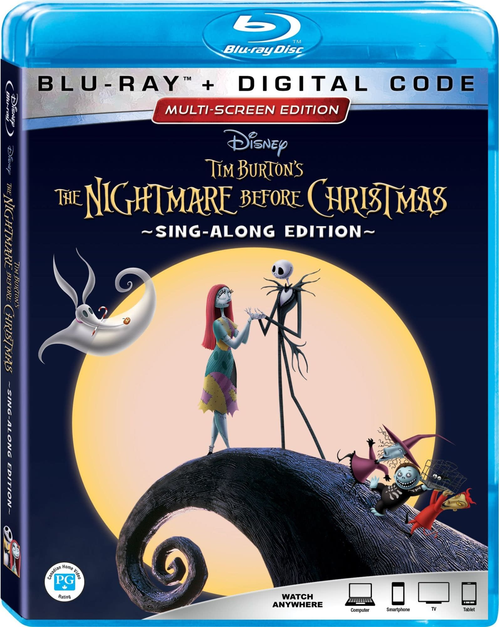 'The Nightmare Before Christmas' 25th Anniversary Blu-ray Details Revealed