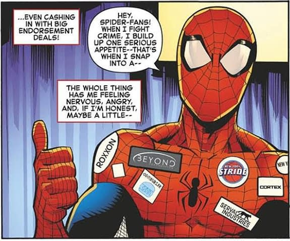 Ryan Ottley's Ex-Mormon Reference Removed From Amazing Spider-Man #4