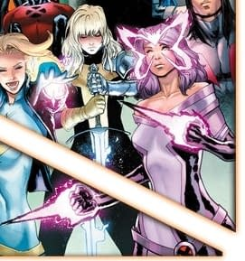 From East Asian to Caucasian – Psylocke Switches Back on Wednesday